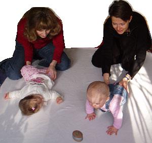 Mütter und ihre Babies